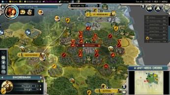 Civilization 5 Into the Renaissance Russia Deity - Encirclement of the Mongols