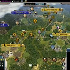 Civilization 5 Into the Renaissance Russia Deity - Homeland Defense