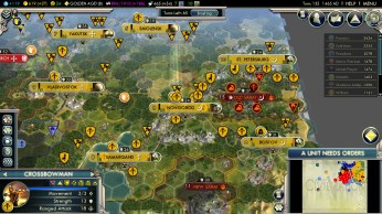 Civilization 5 Into the Renaissance Russia Deity - Finish Mongols