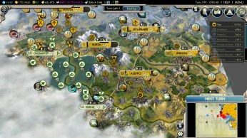 Civilization 5 Into the Renaissance Russia Deity - Conquest of Turkey