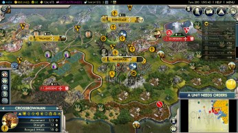 Civilization 5 Into the Renaissance Russia Deity - Austrian Conquest