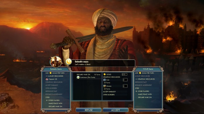 Civilization 5 Into the Renaissance Yokes on the Mongols - Bribe Ayyubids