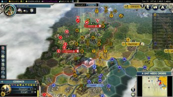 Civilization 5 Into the Renaissance Yokes on the Mongols - Austria + Byzantium
