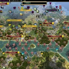Civilization 5 Conquest of the New World England Deity - Bay of Incas
