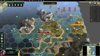 Civilization 5 Conquest of the New World Tea and Crumpets for Everyone - D-Day vs Netherlands