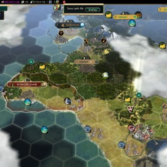Civilization 5 Conquest of the New World Tea and Crumpets for Everyone - Only Colony founded myself