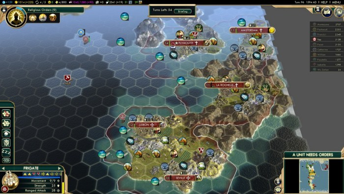 Civilization 5 Conquest of the New World Tea and Crumpets for Everyone - Europa Libre