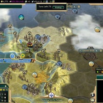 Civilization 5 Conquest of the New World France Deity - War with Iroquois
