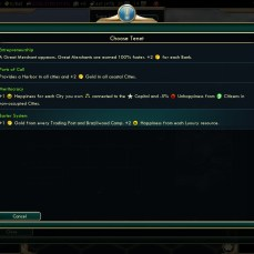 Civilization 5 Conquest of the New World France Deity - Barter System for Happiness