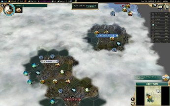 Civilization 5 Conquest of the New World Shoshone Deity - France vs Portugal
