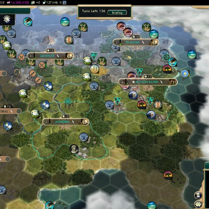 Conquest of the New World Native American Strategy Shoshone fail 3 - 33 Culture per Turn
