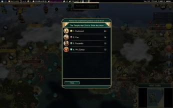 Civilization 5 Conquest of the New World Siglo de Oro Steam Achievement - Remaining Civs