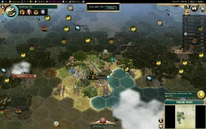 Civilization 5 Conquest of the New World Inca Deity Game 5: CS under attack