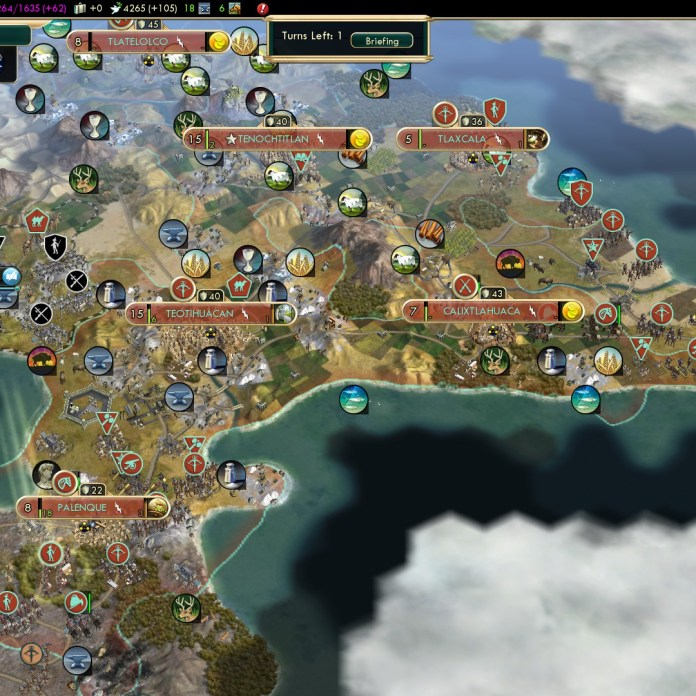 Civilization 5 Conquest of the New World Huitzilopochtli's Arrow 3b - 1st place after almost 9 hours