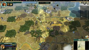 Civilization 5 Conquest of the New World Iroquois Deity 1 - Bribe EN vs FR