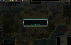 Civilization 5 Conquest of the New World Iroquois Deity 1 - Cusco