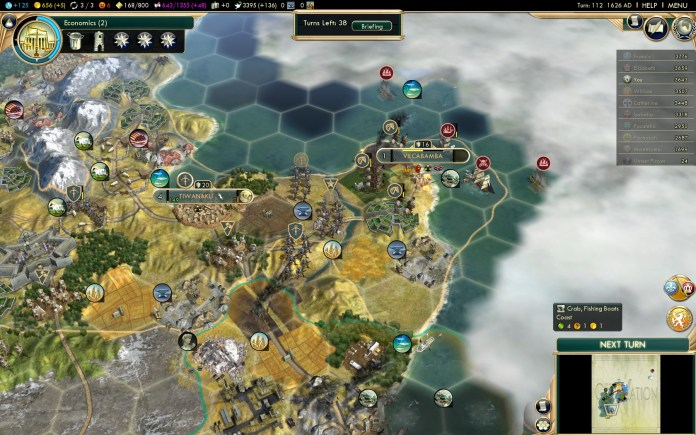 Civilization 5 Conquest of the New World Iroquois Deity 2 - Bribe EN with Crabs