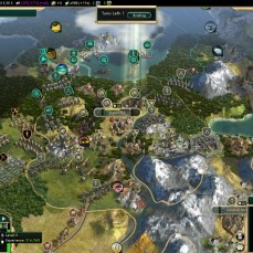 Civilization 5 Conquest of the New World Iroquois Deity 2 - Shoshone War