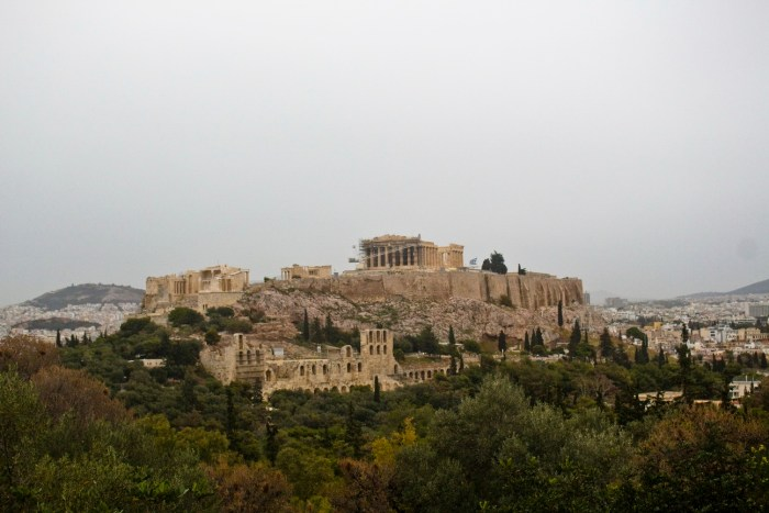 40 Alternative Travel Destinations - Filopappou instead of Acropolis