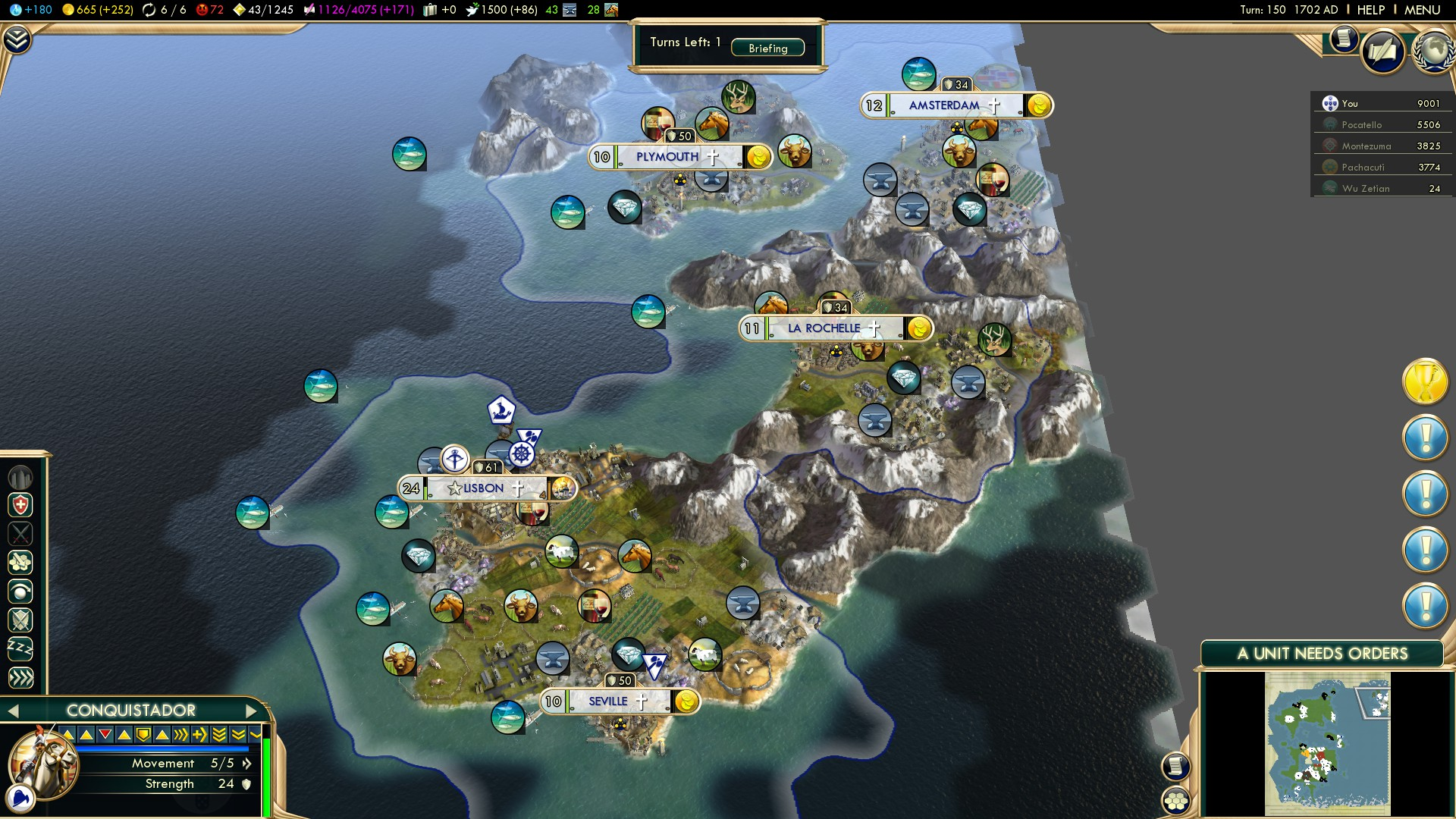 Civilization 5 Conquest of the New World Portugal Deity - Lisbon (24)