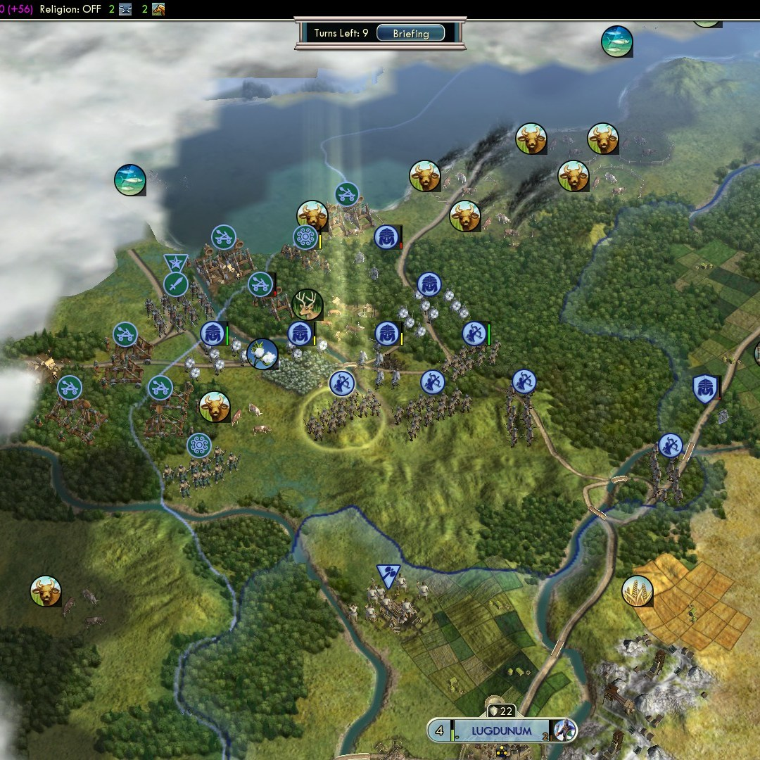 Fall of Rome Franks Deity 61 Celtic Onslaught