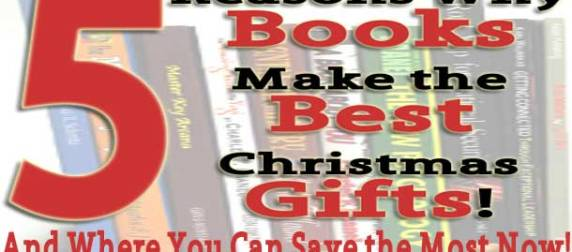5 Reasons Books Make the Best Christmas Gifts
