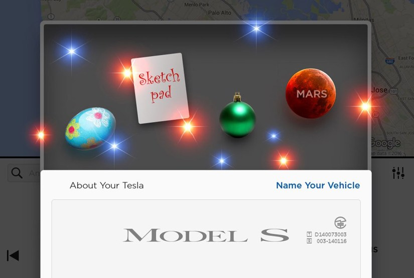 Esempi di gamification - Tesla easter eggs