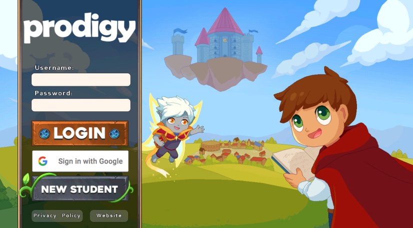 Esempi di gamification - prodigy math