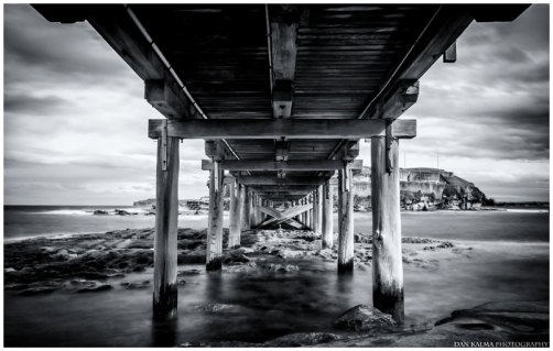 La Perouse under bridge new south wales australia dan kalma photography