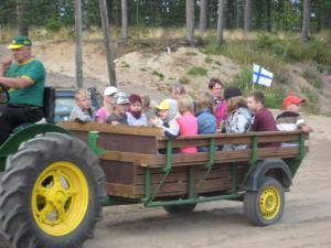 Kopittomien traktoreiden kokoontumisajot 15.8.2009