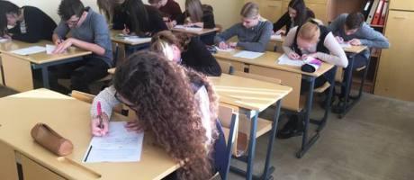 Rusų k. dailyraščio konkursas