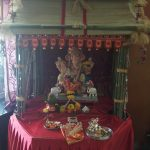 bappa in chinese temple made at home