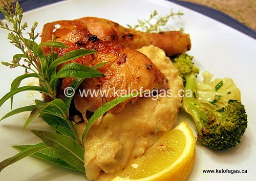 Beer-Can Chicken With Lemon Verbena & Thyme