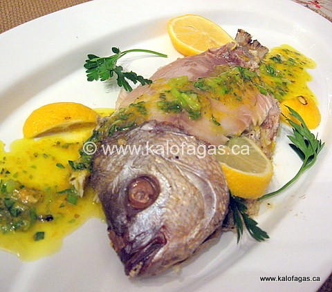Sea Bass Baked in Coarse Sea Salt
