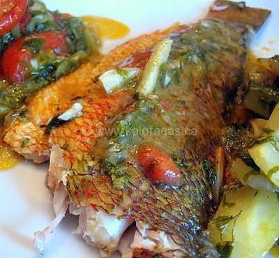 Whole Fish Plaki (Ψάρι-πλακί)