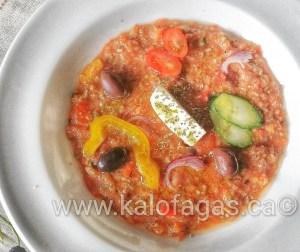 Greek Style Gazpacho