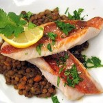 Red Snapper Seared in Sesame Oil With Cilantro