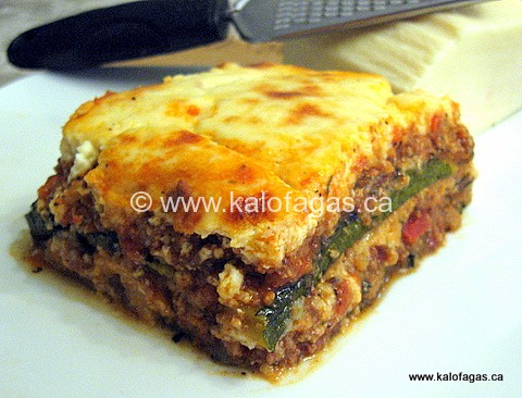 Moussaka With Zucchini