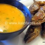 Fried Whiting With Makalo (Μπακαλιαράκια-τηγανητά-με-μακάλo)