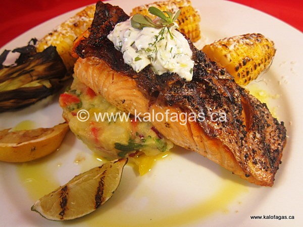 Mission Possible: Grilling Salmon Fillets
