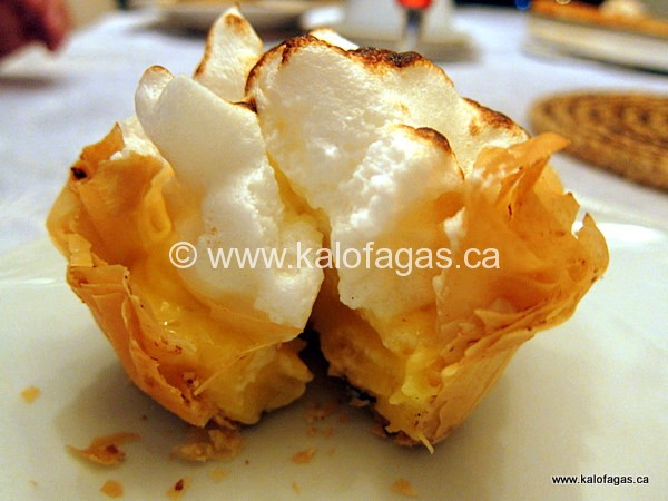 Lemon Meringue Phyllo Tarts - KALOFAGAS | GREEK FOOD & BEYOND