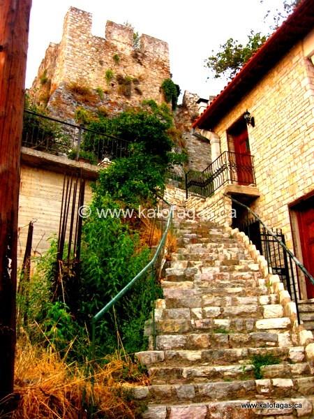 Old town, Nafpaktos