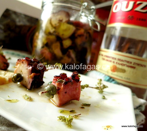 Pickled Octopus