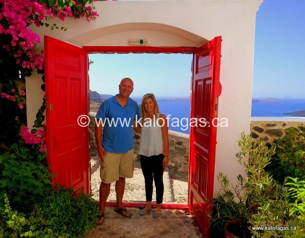 Let's Visit Santorini