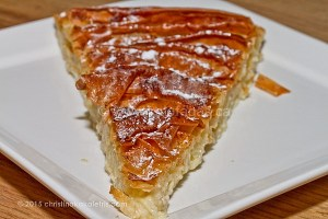Galatopita, A Ruffled Milk Pie