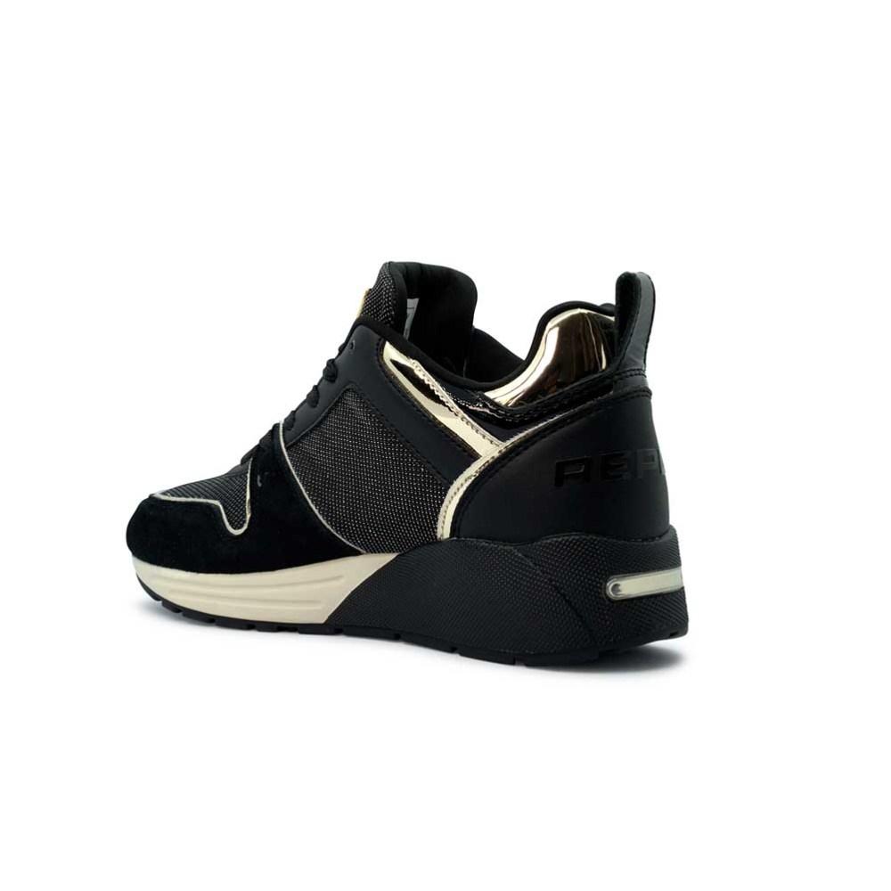 Replay Γυναικεία Μαύρα Sneakers RS360022S