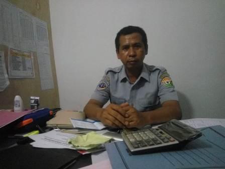 Ketgam : Bendahara Penerima UPTD Pelabuhan Penyeberangab Torobulu - Tampo, Feriman
