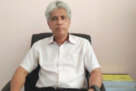 Ketgam : Kepala Bidang (Kabid) Pembinaan, Pendidik dan Tenaga Kependidikan (PTK) Dikmudora Kendari, Muh Rafiuddin