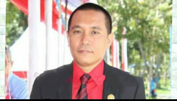 Ketgam : Wakil Ketua Dewan Perwakilan Rakyat Daerah (DPRD) Kabupaten Konawe Rusdianto