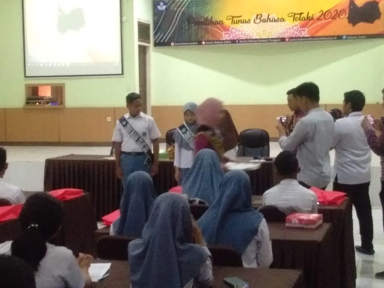 Ketgam : Peserta seleksi Tunas Bahasa Tolaki 2020